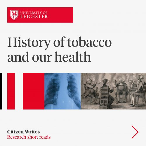 History of tobacco and our health image