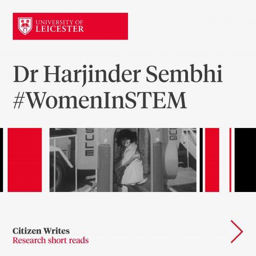 Dr Harjinder Sembhi #WomenInStem image