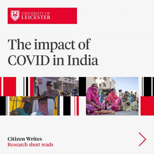 The Impact of COVID in India image