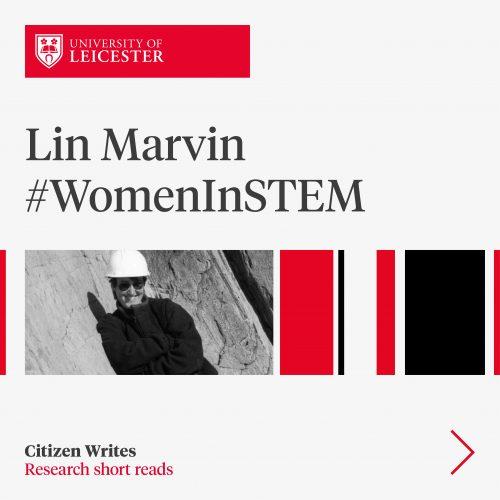 Dr Lin Marvin #WomenInStem image