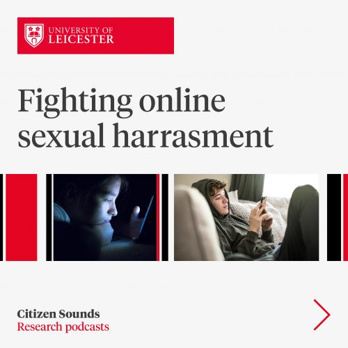 Fightnig online sexual harrasment image