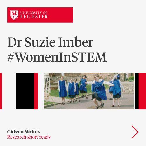 Dr Suzie Imber #WomenInStem image