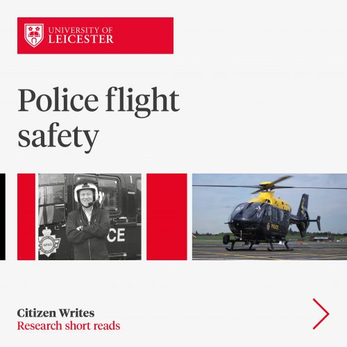 Researching flight safety at the UK National Police Air Service image