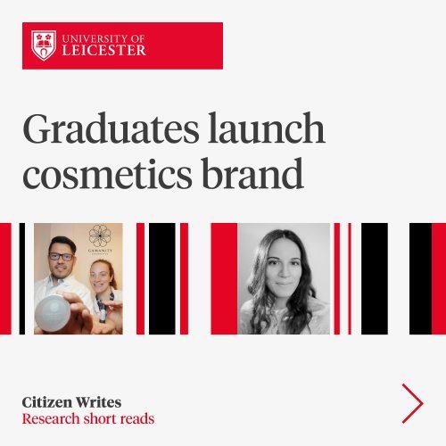 Graduates launch cosmetics brand image