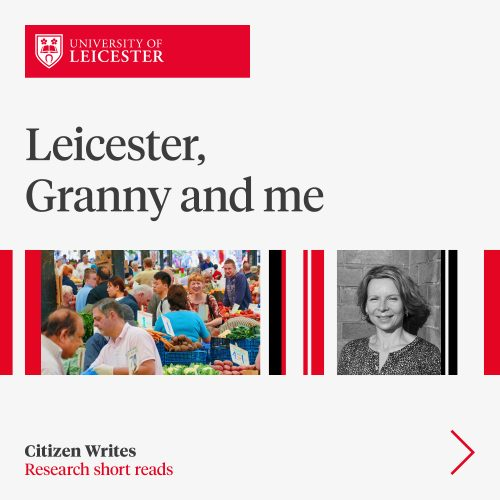 Leicester, granny and me image