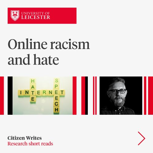 Online racism and hate image