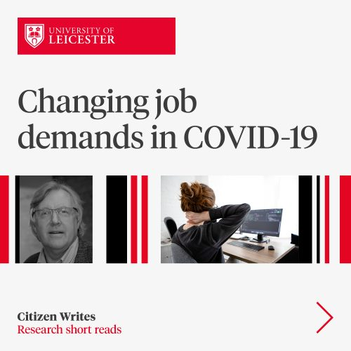 changing job demands in covid-19